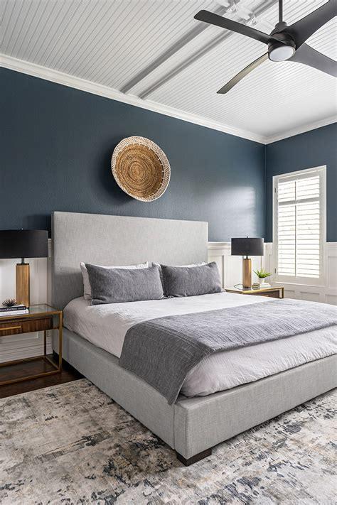 circle  cozy modern master bedroom contemporary