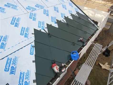 installing steel roofing fine homebuilding metal roof installation fine metal roof tech