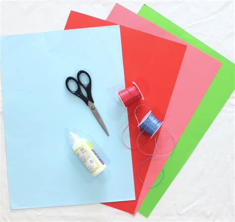 Materials To Make Paper - how to make a paper gift bag