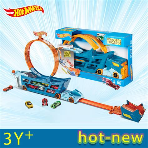 Hotwheel Stunt And Go wheels stunt ᐊ n n go mobile ts move track car toys toys educational truck toys best