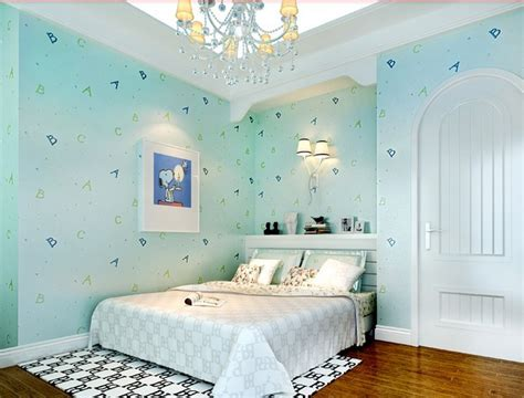 rooms to go free shipping free shipping room abc letters non woven wallpaper warm bedroom children room background
