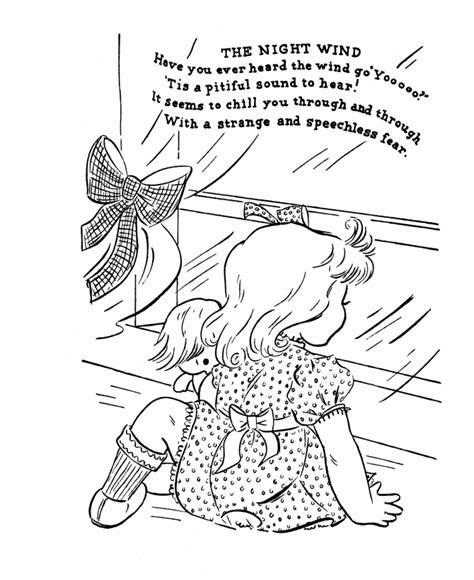 wind coloring pages for preschool nursery rhymes coloring pages coloring kids