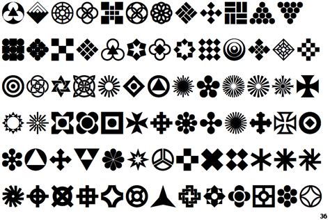 geometric ornaments identifont geometric ornaments