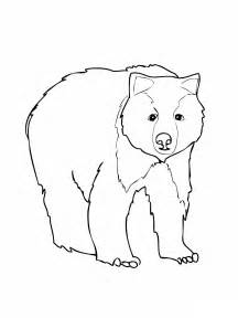 Free Printable Bear Coloring Pages For Kids sketch template
