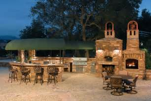 barbecue island patio