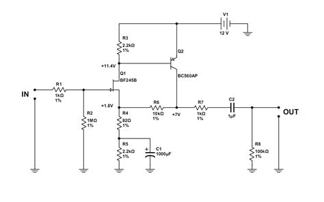 transistor jfet audio top circuits page 357 next gr