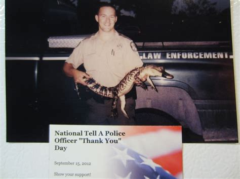 National Thank A Officer Day by Quot Thank You Quot National Tell A Officer Quot Thank You
