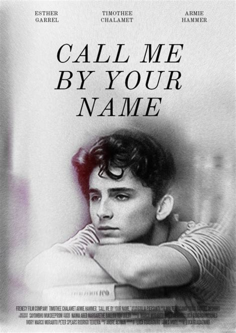 call me by your name 2017 movie posters films movie and movie tv