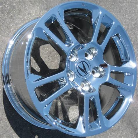 acura tl chrome wheels oem chrome acura tl 71785 bigwheels net custom wheels