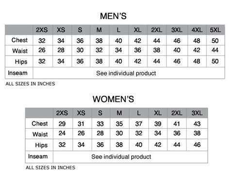 s to s pant size conversion table mens chest size conversion chart images chart design for