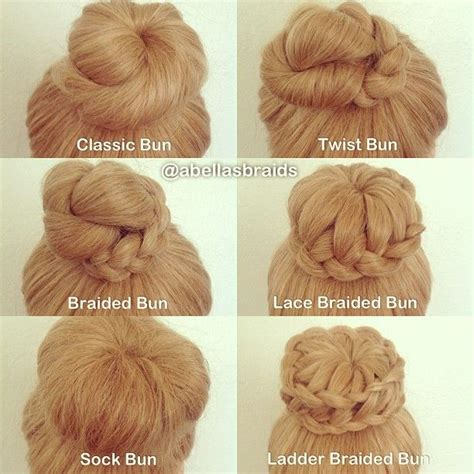 different hairstyles in buns different types of hair style buns hair is our crown