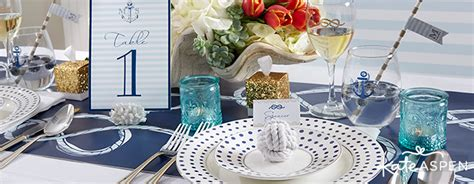 nautical wedding favors decor kate aspen