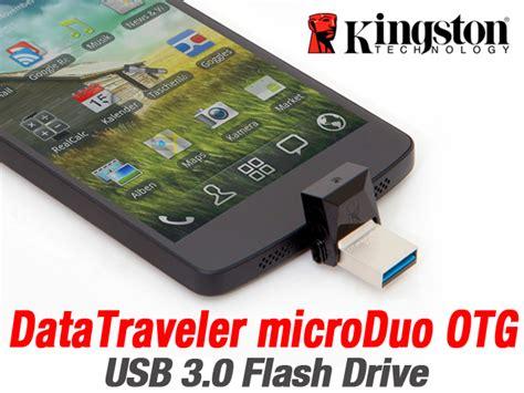 Usb Otg Kingston Dt Microduo 3 0 16gb kingston datatraveler microduo otg usb 3 0 flash drive