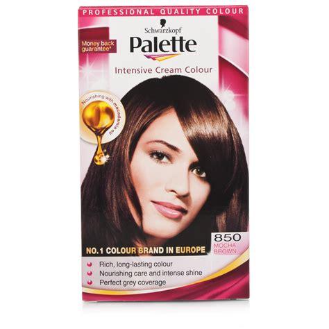 palette schwarzkopf schwarzkopf palette intense cream color 850 mocha brown ebay