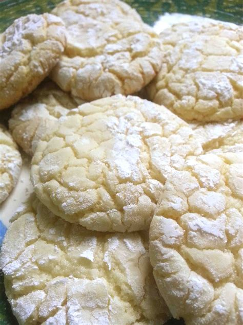made by me shared with you vanilla cake mix cookies recipe