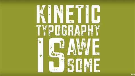 kinetic typography tutorial flash cs6 motion 5 tutorials simple video making