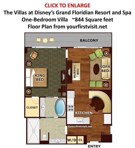 the grand floridian 7 bedroom floor plans review the villas at disney s grand floridian resort