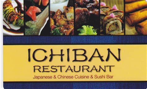 Ichiban Gift Card - ichiban gift card lamoureph blog