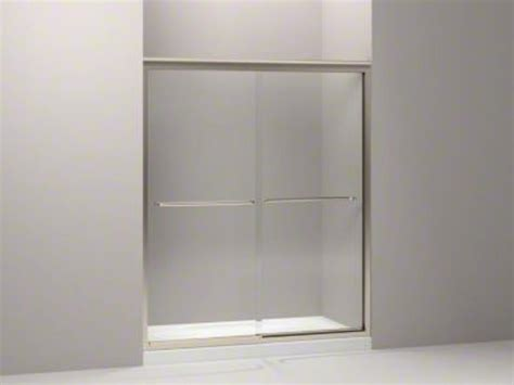 Fluence Shower Door Kohler Fluence Frameless Bypass Shower Door Brushed Bronze K 702206 L Abv Ebay