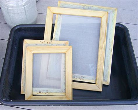 Paper Frame And Deckle - deckle