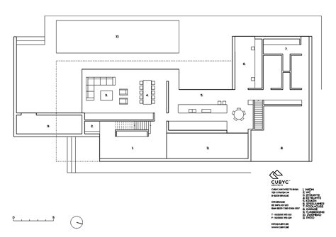 serin residency floor plan gallery of hs residence cubyc architects 26