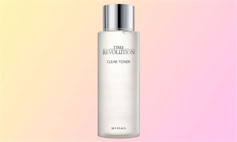 Missha Time Revolution Clear Toner the review missha time revolution clear toner