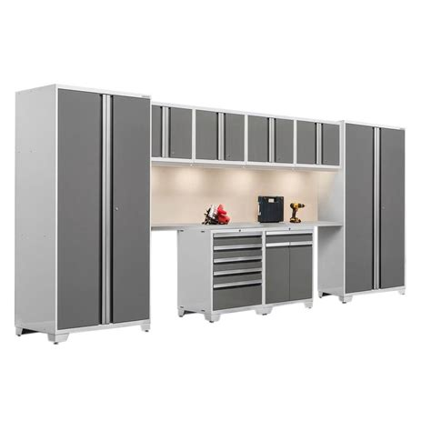 Garage Cabinets Leeds Buddy Products 18 86 In H X 8 11 In W X 6 0 In D 5 Lbs