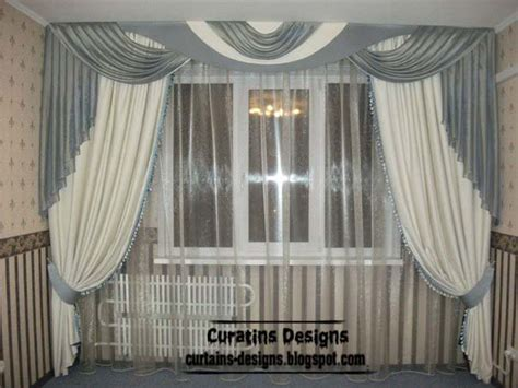 different drapery styles unique curtains designs grey and white curtain styles
