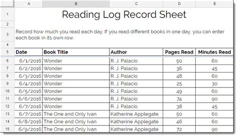 4th grade reading log template top reading log 6 grade wallpapers