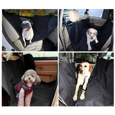 bench seat covers for dogs pet dog car seat cover for rear bench seat waterproof hammock style outdoor car seat