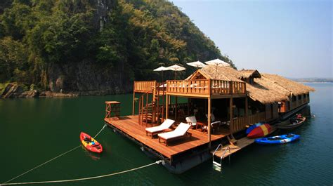 lake boat house lake house adventure sangkhlaburi tour