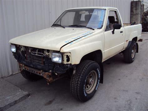 1985 Toyota Front Axle 1985 Toyota Up Truck Regular Cab Standard Model 2 4l