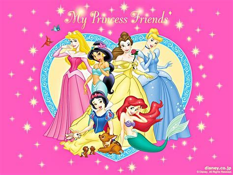 Walt Disney Wallpapers The Disney Princesses Walt Disney Characters Wallpaper