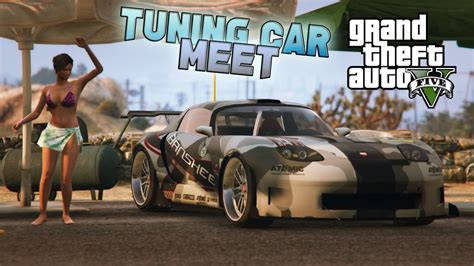 Gta 5 Auto Tuning by Tuning Car Meet Gta5 Mods