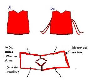 tabard dress pattern images