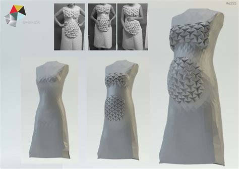 Origami Inspired Dress - origami inspired dress fits at every stage of pregnancy