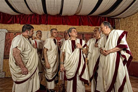dei senatori senatori gruppo storico romano