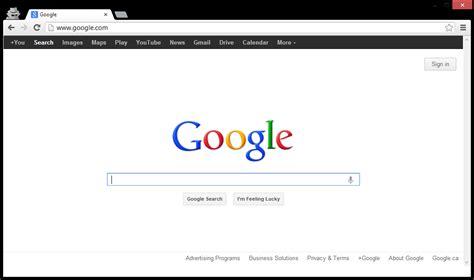 google imagenes version web google tests replacing and removing navigation bar on its