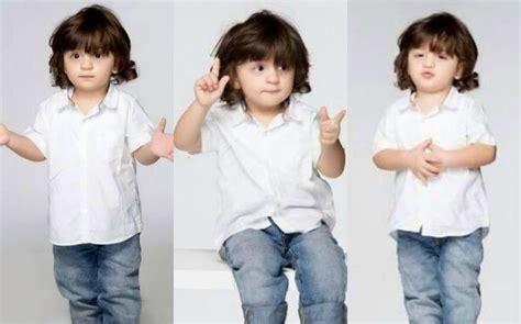 Shahrukh Khan Son AbRam Cute Photoshoot - YouTube