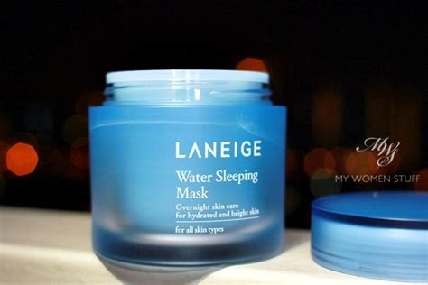 Laneige Water Sleeping Mask Di Counter review laneige water sleeping mask