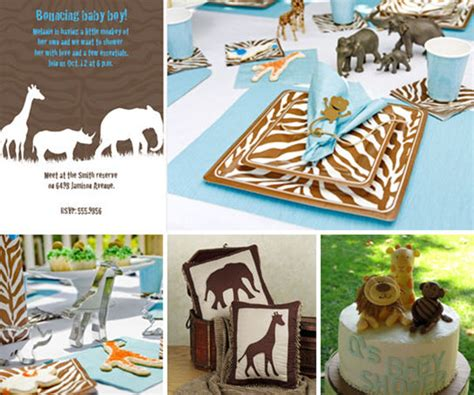 Safari Baby Shower by It S A Time With A Boys Safari Baby Shower B