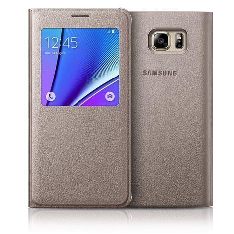 Flip Cover S View Samsung Galaxy Note5 Auto Lock Flipcover Funda Samsung Galaxy Note 5 S View Flip Cover Original
