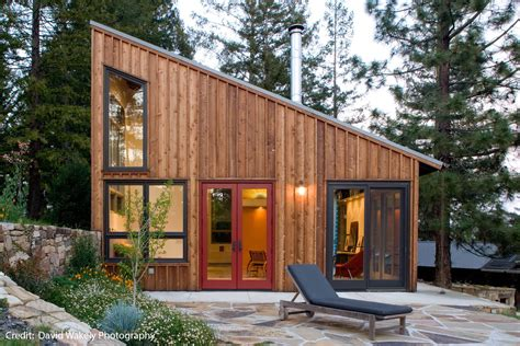 Micro Cottage | micro cottage by architect cathy schwabe eye on design by dan gregory
