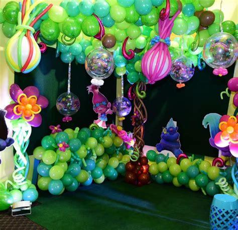 decoracion trolls 20 originales fiestas de trolls