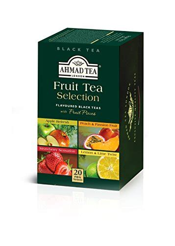 Ahmad Tea Detox 20 Count Pack Of 6 by Ahmad Tea Fruit Tea Selection 20 Count Pack Of 6 Buy