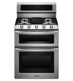 Lowes Cooktops Gas 5 Burner Gas Freestanding Double Oven Range Architect