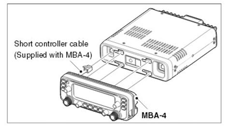 What Does Mba On Scanner by Mba 4 Combination Bracket For Ic 2730e Icom 2730