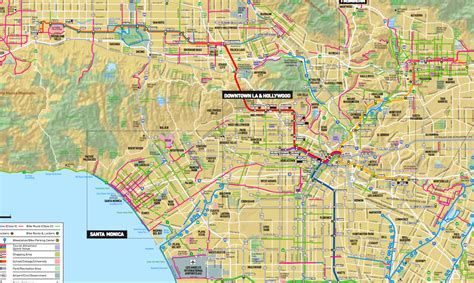 louisiana bicycle map metro releases new bike map of l a county the source