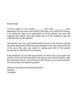 Appreciation Letter Matter letter for appreciation received thank you letter for appreciation for