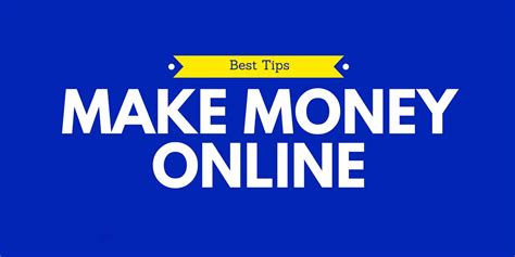 How To Make Money With Money Online - how to earn money online with google make money online with google